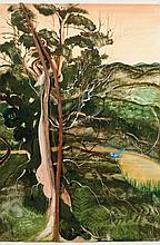BRETT WHITELEY (1939-1992) Kurrajong 1981 oil,