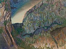 WILLIAM ROBINSON born 1936 Day and Night Landscape