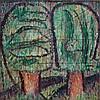GODFREY MILLER (1893-1964) Fig Trees oil on canvas