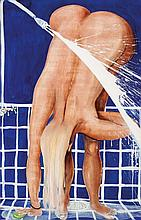 BRETT WHITELEY (1939-1992) Arkie Under the Shower
