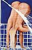 BRETT WHITELEY (1939-1992) Arkie Under the Shower
