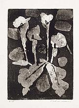 FRED WILLIAMS (1927-1982) Lilies 1962 aquatint,
