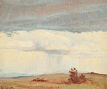 TOM ROBERTS (1856-1931) Rain Cloud (Tasmania)