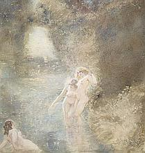 NORMAN LINDSAY (1879-1969) The Stream 1921