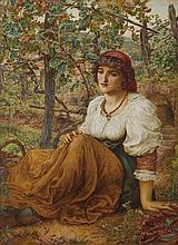 THOMAS MATTHEWS ROOKE (1842-1942, British), Italian Girl 1889