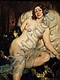 NORMAN LINDSAY (1879-1969) Repose c1940 oil on