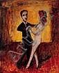 GARRY SHEAD, born 1942 Dance 1997 oil on