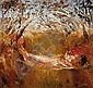 ARTHUR BOYD (1920-1999) Lovers Across a Creek
