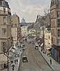 WILL ASHTON (1881-1963) Paris oil on canvas on