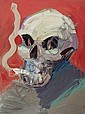 BEN QUILTY, born 1973 Amsterdam Skull with Fag