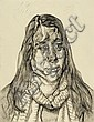 LUCIAN FREUD (1922-2011) Portrait Head 2001