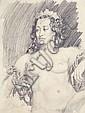 NORMAN LINDSAY (1879-1969) Rita Imperatrix 1939