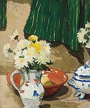 MARGARET PRESTON (1875-1963) The Green Curtain c1790