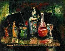 PRO HART (1928-2006) Untitled (Still Life)