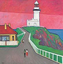 JOHN RIGBY (1922-2012) Byron Bay Lighthouse, NSW 1971