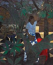 RAY CROOKE born 1922 Islander's Garden, Fiji 1966