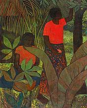 RAY CROOKE born 1922 Untitled (Fiji Garden)