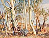 HANS HEYSEN (1877-1968)  Untitled (Landscape with Cows) 1950, Hans Heysen, AUD12,000