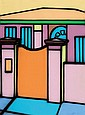 HOWARD ARKLEY (1951-1999) Front Gate and Home 1997