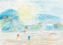 LLOYD REES (1895-1988) Tasmanian Landscape 1986