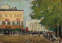 RICHARD HAYLEY LEVER (1876-1958) Paris Procession
