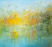 DAVID BOYD (1924-2011) The River at Warrandyte c1987