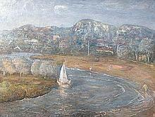 LLOYD REES (1895-1988) Song to Creation - Land 1969