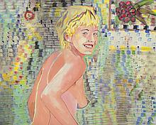 RICHARD LARTER (1929-2014) Smiling Girl 1986