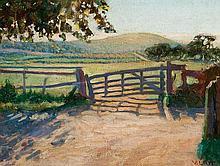 VIDA LAHEY (1882-1968) The Old Gate, near Brighton, England