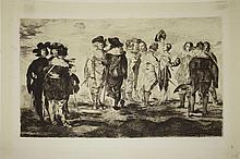 Edouard Manet (Fr 1832-1883) Les Petits Cavaliers