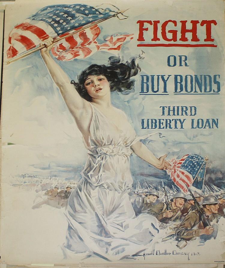 Howard Chandler Christy Lady Liberty