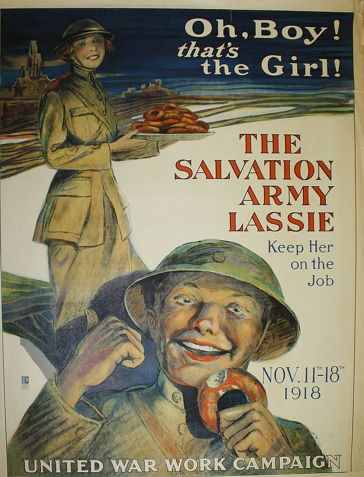Unknown artist The Salvation Army Lassie