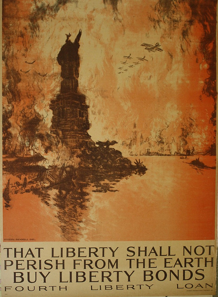 Joseph Pennell Statue of Liberty