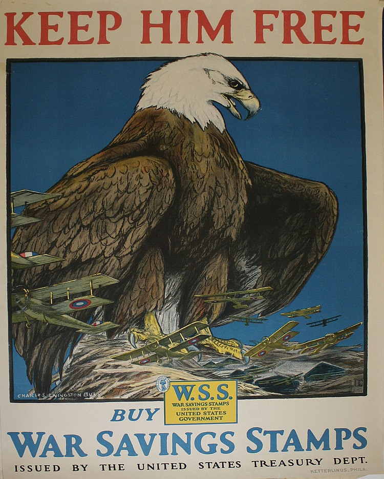 Charles Livingston Bull American Bald Eagle