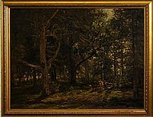 William Preston Phelps (Am 1848-1923) o/c Haul