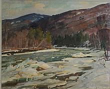 Aldro T Hibbard (Am 1886-1972) o/b West River