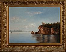 William Stacy (VT 1836-1919) o/c of Rock Point- Burlington, VT