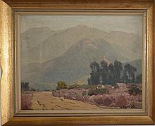 Hanson Duvall Puthuff (Am 1875-1972) o/b Wreaths