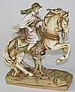 Amphora Turn Austria Orientalist porcelain horse