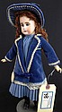 attributed Belton bisque doll- mkd 5, socket head,
