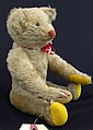 Steiff mohair bent arm light mohair bear w/