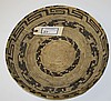 SW Native American coil basket, dia. 14
