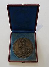 Médaille en bronze figurant Ferrante Gonzague  XVIIème siècle.   D_