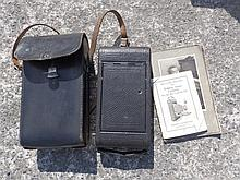 A folding Ansco camera