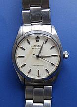 A gent's stainless steel Rolex Metropolitan bracelet wrist watch – dial a/f