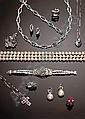 [ Jewellery ] Schmuck und Juwelen Brillantbrosche. Moderne Schleifenform. Brillanten ca. 0,78 ct. In 14 ct. WG-Fassung