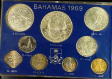 1969 Bahamas Mint Set