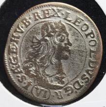 1672 Hungarian 6 Krajczar