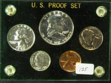 1957 United States Silver Proof Set