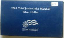 2005 Chief Justice John Marshall Pr Silver Commem.